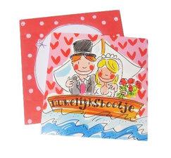 Blond Amsterdam kaart Huwelijksbootje