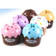 Cupcake Tissuebox chocolade bruin