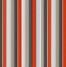 Vliegengordijn plastic lamellen rood-grijs 90x220cm