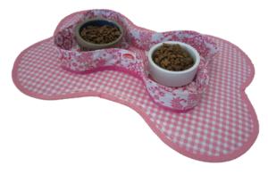 Voerbakhouder Kitsch Kitchen paraiso roze