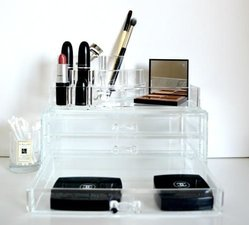 Make-up Organizer rond met lades groot
