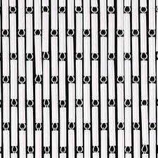 Vliegengordijn hulzen wit 90x210cm