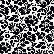 SALE doorzichtig tafelzeil barok zwart 100x140cm