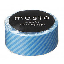 Masking tape Masté blauwe strepen