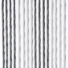 Vliegengordijn Victoria 90x220cm (zilver-wit)