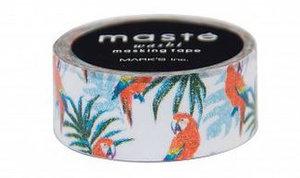 Masking tape Masté papegaaien