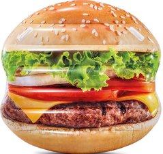 Opblaasbare hamburger luchtbed