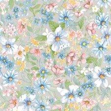 Plakfolie bloemen romantisch (45cm)