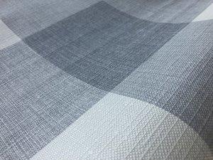 35x140 Restje tafelzeil geblokt grijstinten