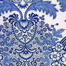 Ovaal Mexicaans tafelzeil paraiso blauw