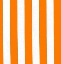 Ovaal Mexicaans tafelzeil strepen oranje