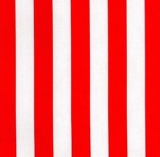 Ovaal Mexicaans tafelzeil strepen rood