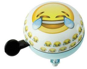 Fietsbel emoticons tranen van het lachen