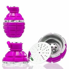 Tabakskop granaat roze