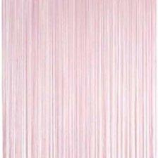 Draadjesgordijn lichtroze 100x250cm