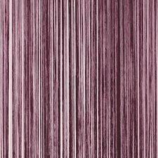 Draadjesgordijn aubergine 100x250cm
