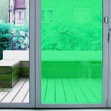 Aslan raamfolie transparant groen RAL 6024 (125cm)