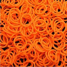 150 Loombands parels oranje
