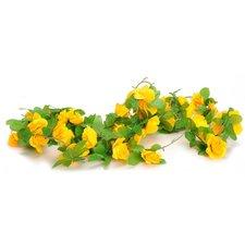 Bloemenslinger fietsslinger bloemen geel