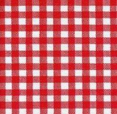 SALE Mexicaans tafelzeil ruitjes rood 120x120cm