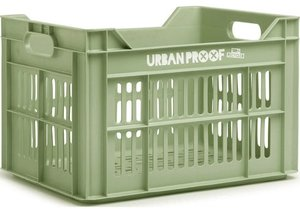 Urban Proof fietskrat frosty green