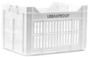 Urban Proof fietskrat wit