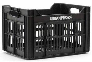 Urban Proof fietskrat zwart