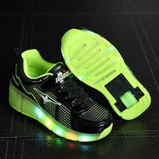 Schoenen met wieltjes Sporty black