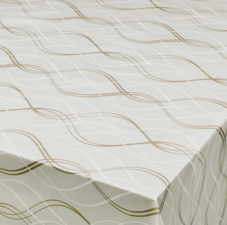 60x140cm Restje tafelzeil waves