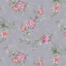 30x140cm Restje tafelzeil romantische bloem grijs