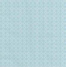 55x140cm Restje tafelzeil vintage Andy lichtblauw