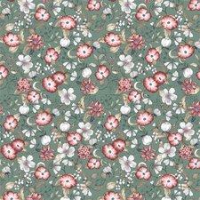 35x140 Restje tafelzeil poppies bloemen
