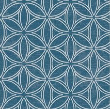 40x140cm Restje tafelzeil orbit blauw