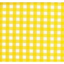 SALE Mexicaans tafelzeil ruitjes geel 100x120cm