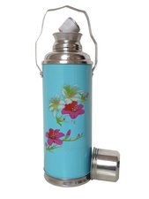 Chinese thermoskan pink bloesem blauw