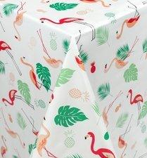 Ovaal tafelzeil flamingo jungle