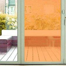 Aslan raamfolie transparant oranje RAL 1028 (125cm)