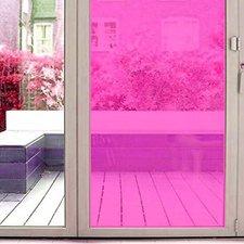 Aslan raamfolie transparant roze RAL 4003 (125cm)