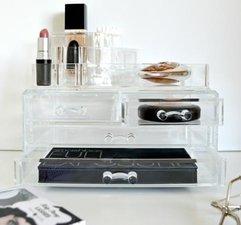 Make-up Organizer rond met lades groot/klein
