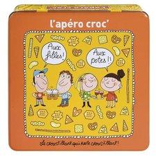 Chips blik Derriere la porte (oranje/geel)