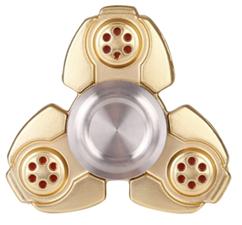 Luxe metalen fidget spinner koper (zware kwaliteit)