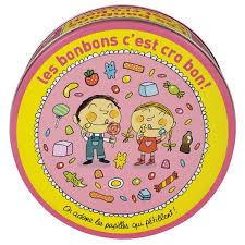 Kinder snoepjes blik Derriere La Porte roze