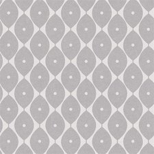 45x140cm Restje tafelzeil abstracte ovaaltjes grijs