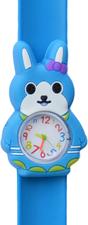 Kinderhorloge happy konijntje blauw