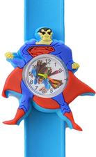 Kinderhorloge superheld blauw