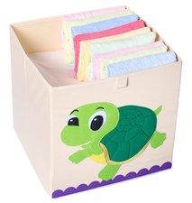 Opbergmand Frusqo schildpad (past oa. in Ikea Expedit en Kallax)