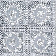 Kant tafelzeil rozen wit
