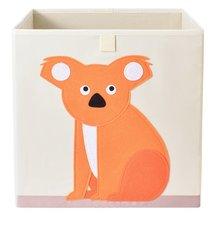 Opbergmand Frusqo oranje koala (past oa. in Ikea Expedit en Kallax)