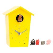 KooKoo klok AnimalHouse geel (koekoeksklok)