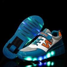 Schoenen met wieltjes N-green (mt 32-38)